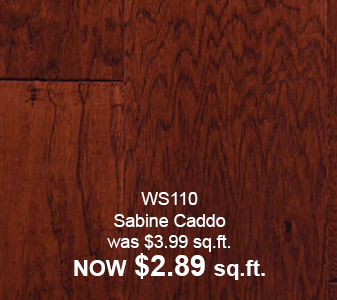 Sabine Caddo $2.89 sq.ft.