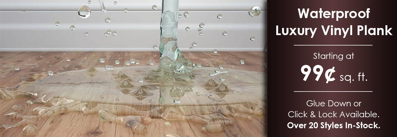 Waterproof Luxury Vinyl Plank Wichita Falls Tx